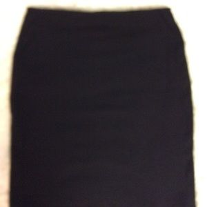 Old Navy Stretch Pencil Mini Skirt Jet Black M